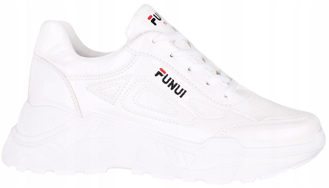 Buty sportowe adidasy damskie jakość biel H178 R41