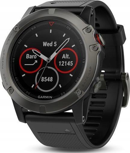 ZEGAREK smartwatch - Garmin Fenix 5X Sapphire
