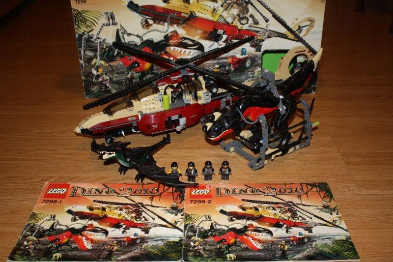 Lego Dino 2010 7298 Helikopter Air Tracker