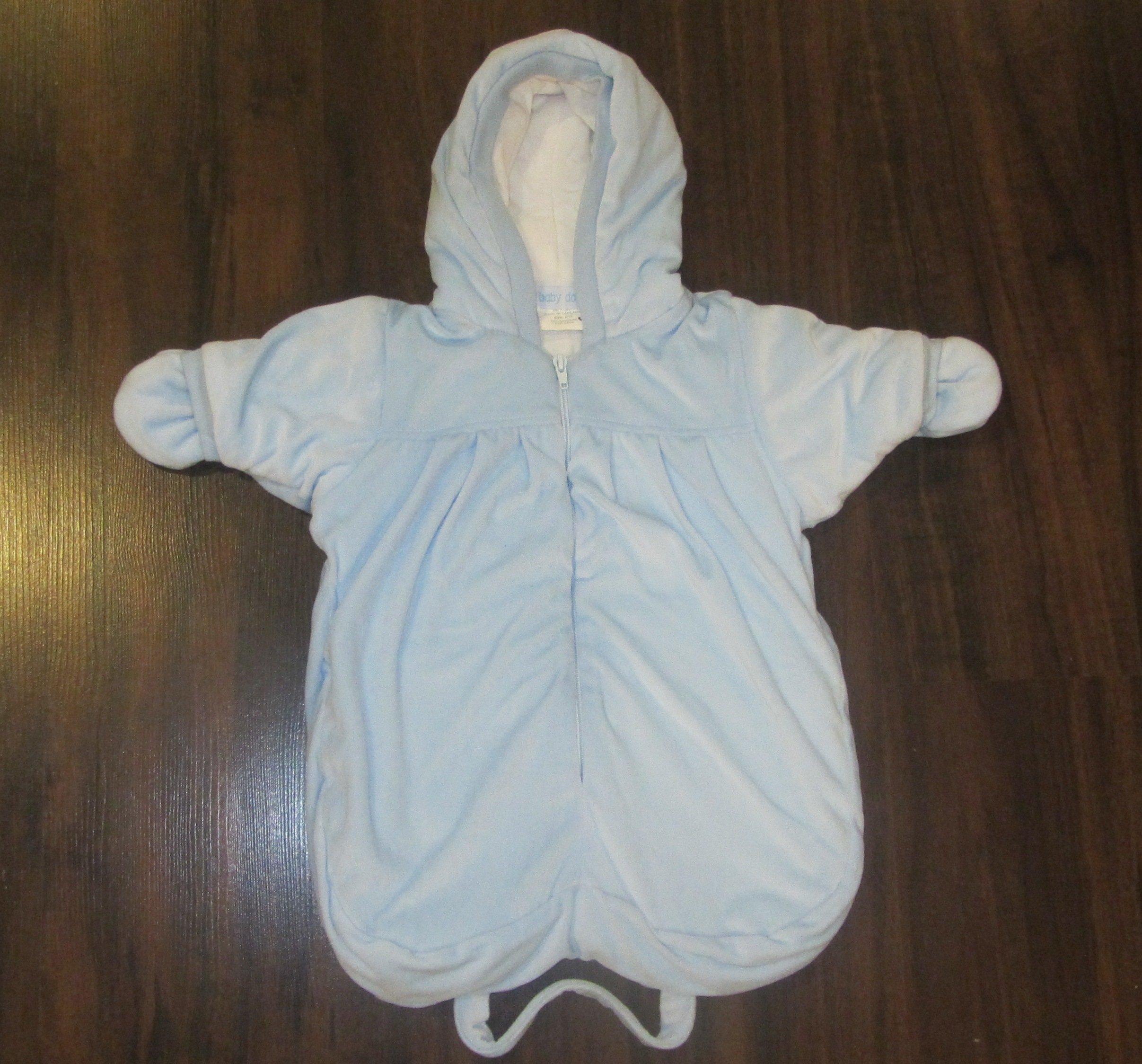 BABY DOVE Śpiworek 0+/56cm/błękit (zima-wiosna)