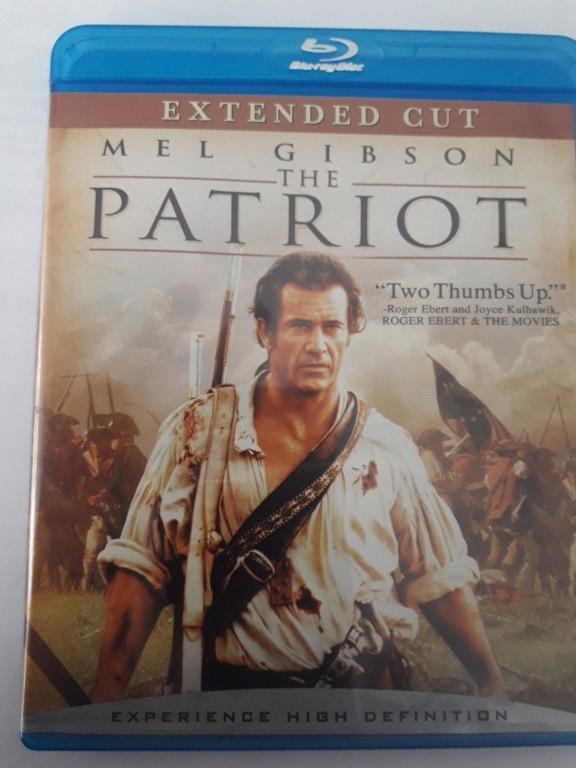 Patriota blu ray Mel Gibson Nowy bez folii
