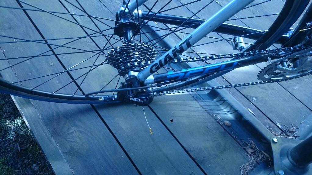 Rower szosowy +trenazer +kolo do trenazera