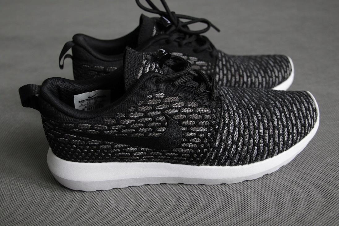 Nike Roshe Run Flyknit blackgrey, r. 39 z POLSKI