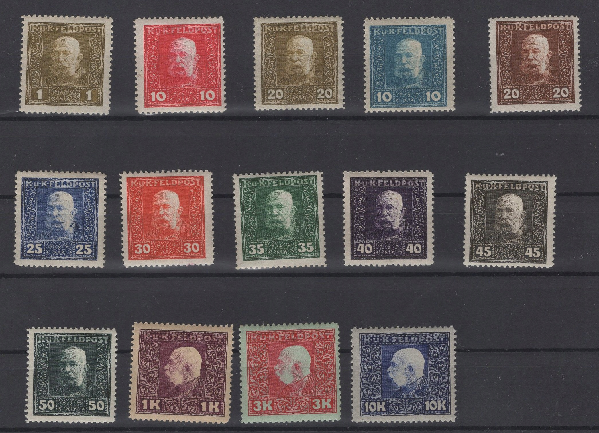 ZN.OBIEGOWE, 1915 ROK, Fi. 22-46, 48 **/*