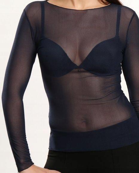 Siateczkowa elastyczna koszulka r.S