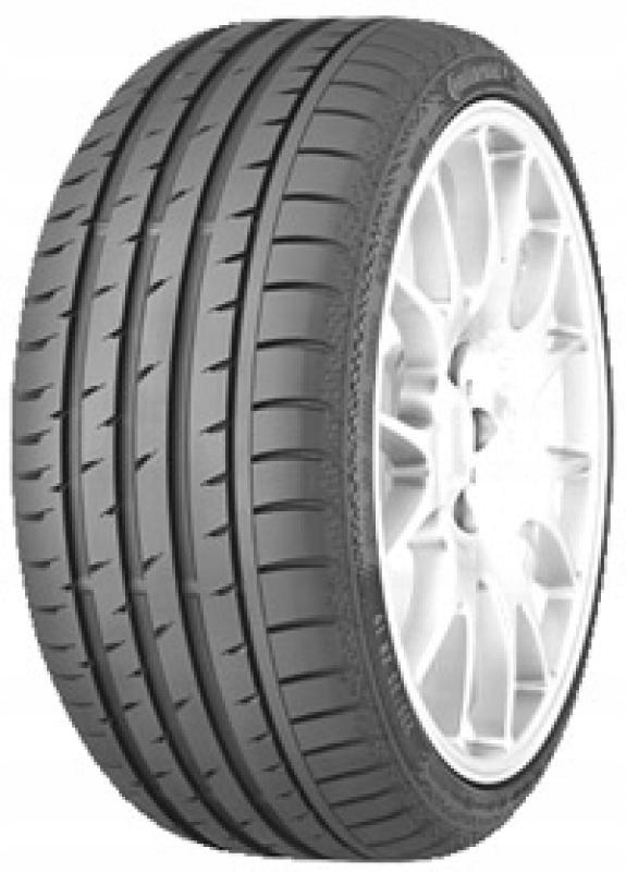 2x Continental ContiSportContact 3 J 275/35 R20 10
