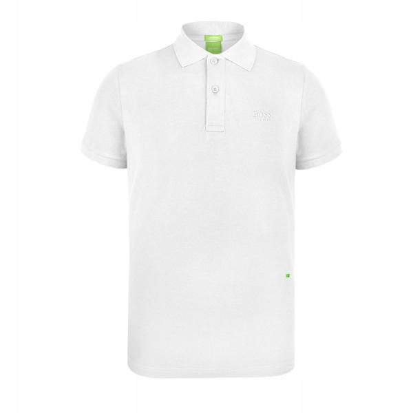 HUGO BOSS koszulka polo CLASSIC WHITE PO95 r.S
