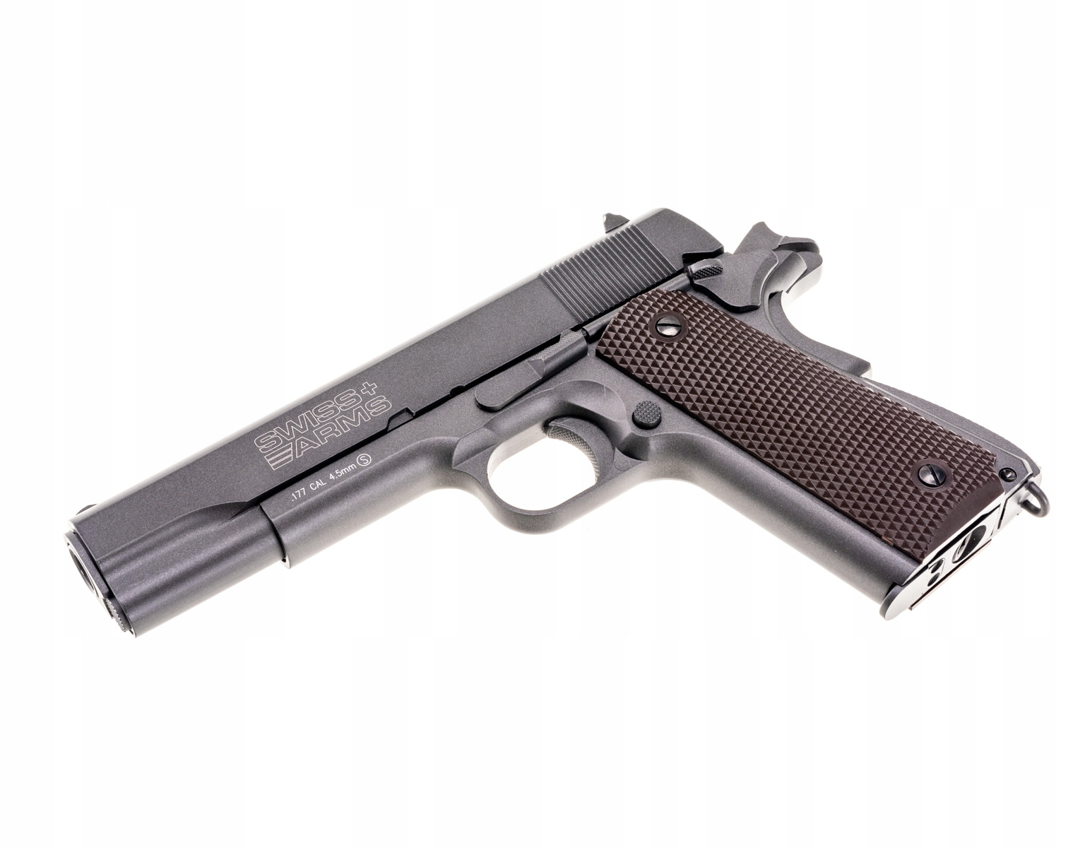 Wiatrówka CyberGun Swiss Arms P1911 Blow Back 4,5