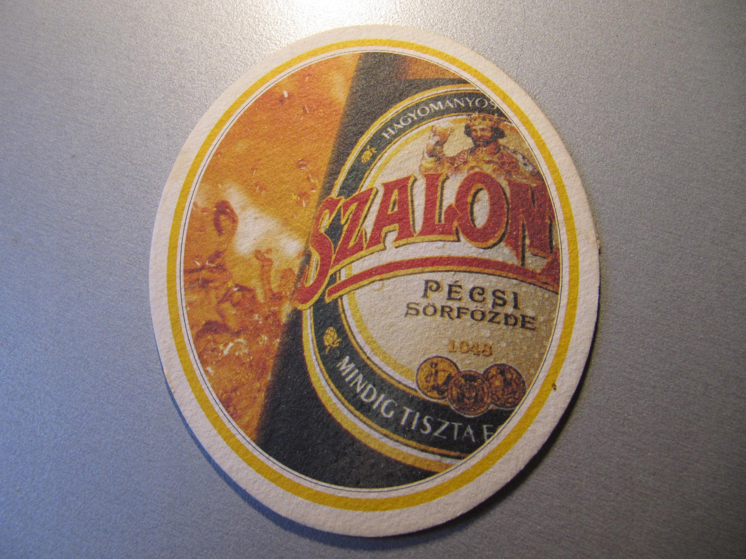 PODSTAWKA PODKŁADKA piwo SZALON Magyar 1999