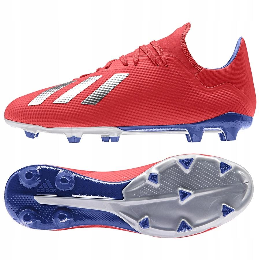 Buty adidas X 18.3 FG BB9367 czerwony 40!