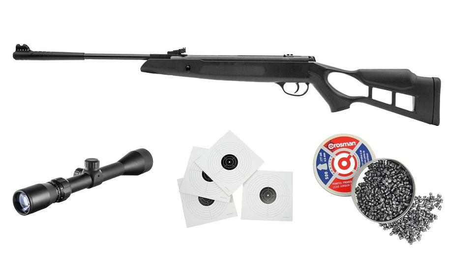 WIATRÓWKA HATSAN 4,5mm STRIKER EDGE VORTEX +LUNETA