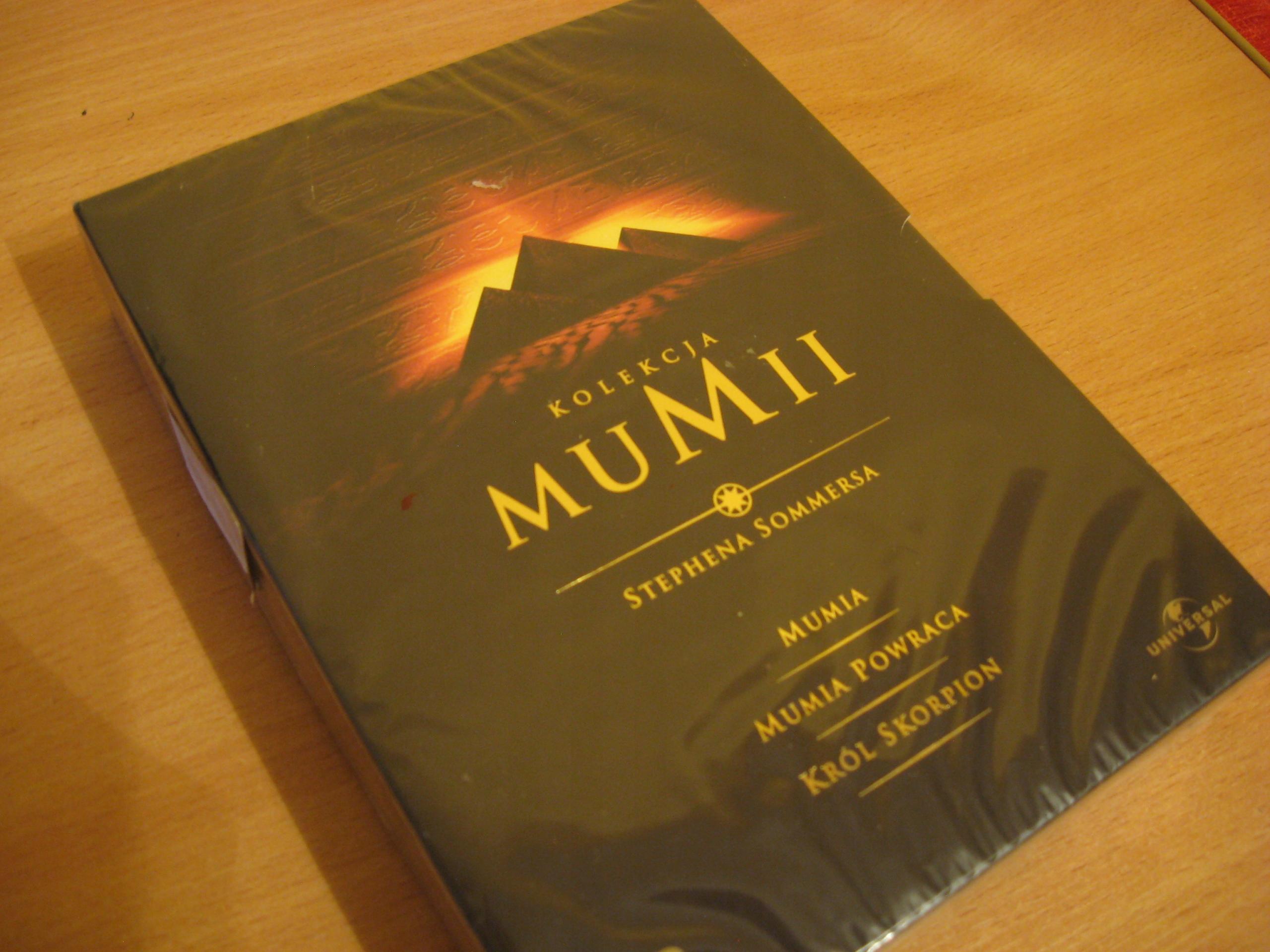 Mumia: kolekcja (+ Mumia powraca, Król Skorpion)