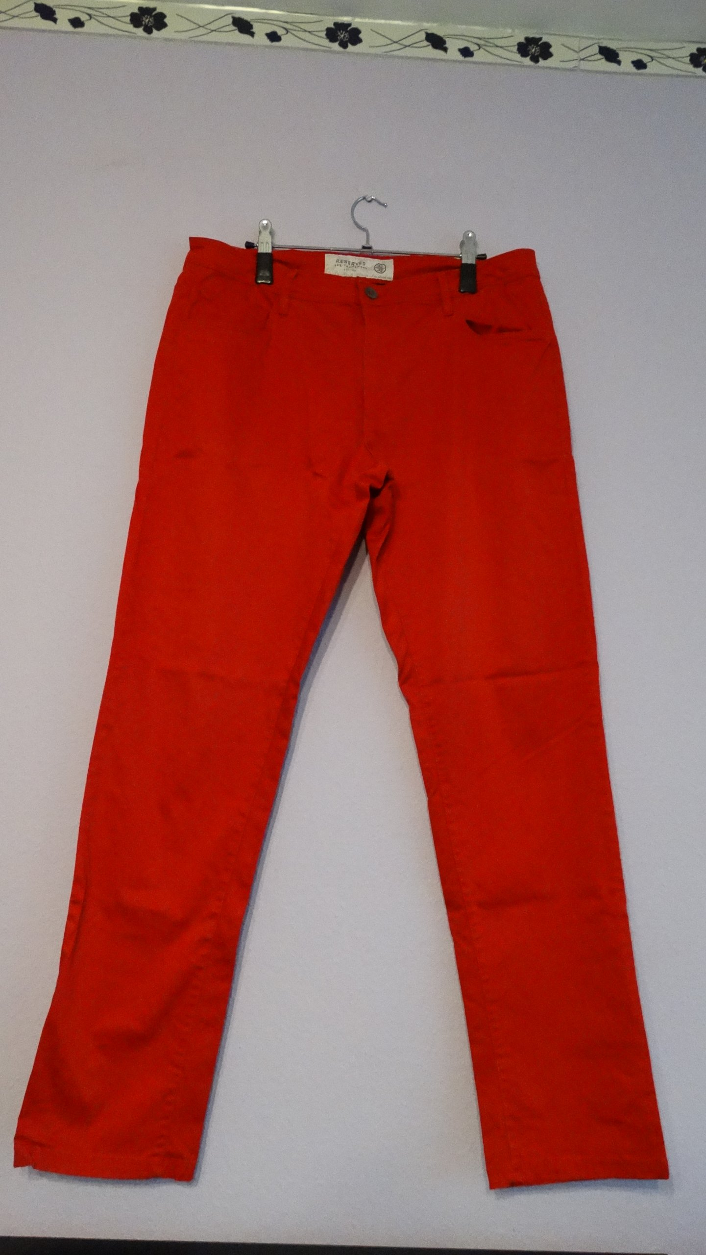 Męskie spodnie Reserved 32/32 gratis trampki Vans