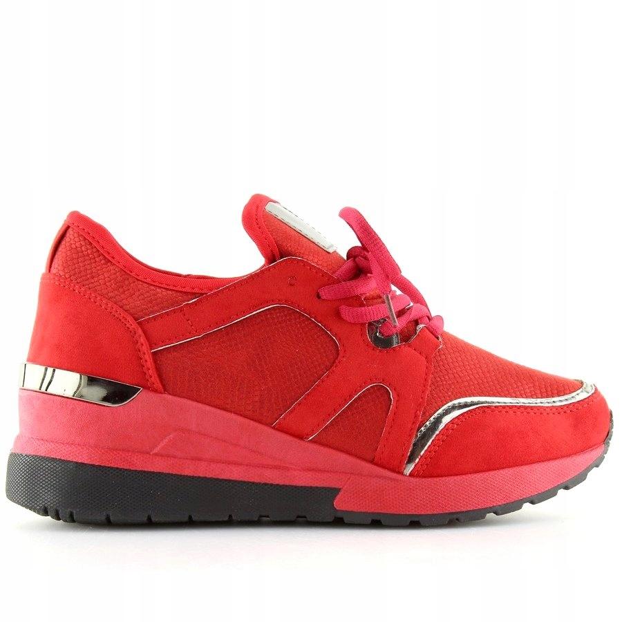 031c051db Buty sportowe damskie czerwone BL141P Red r.37 - 7716908862 ...