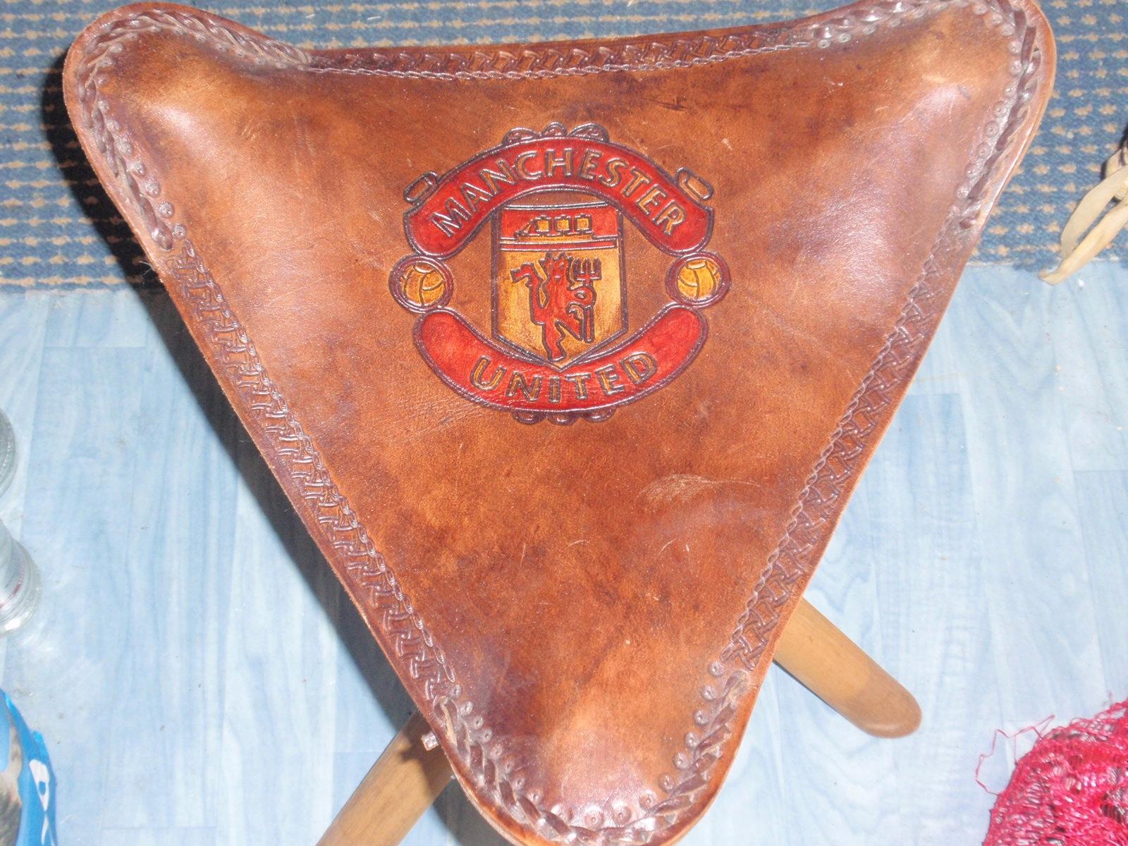 Stołek kibica Manchester United !