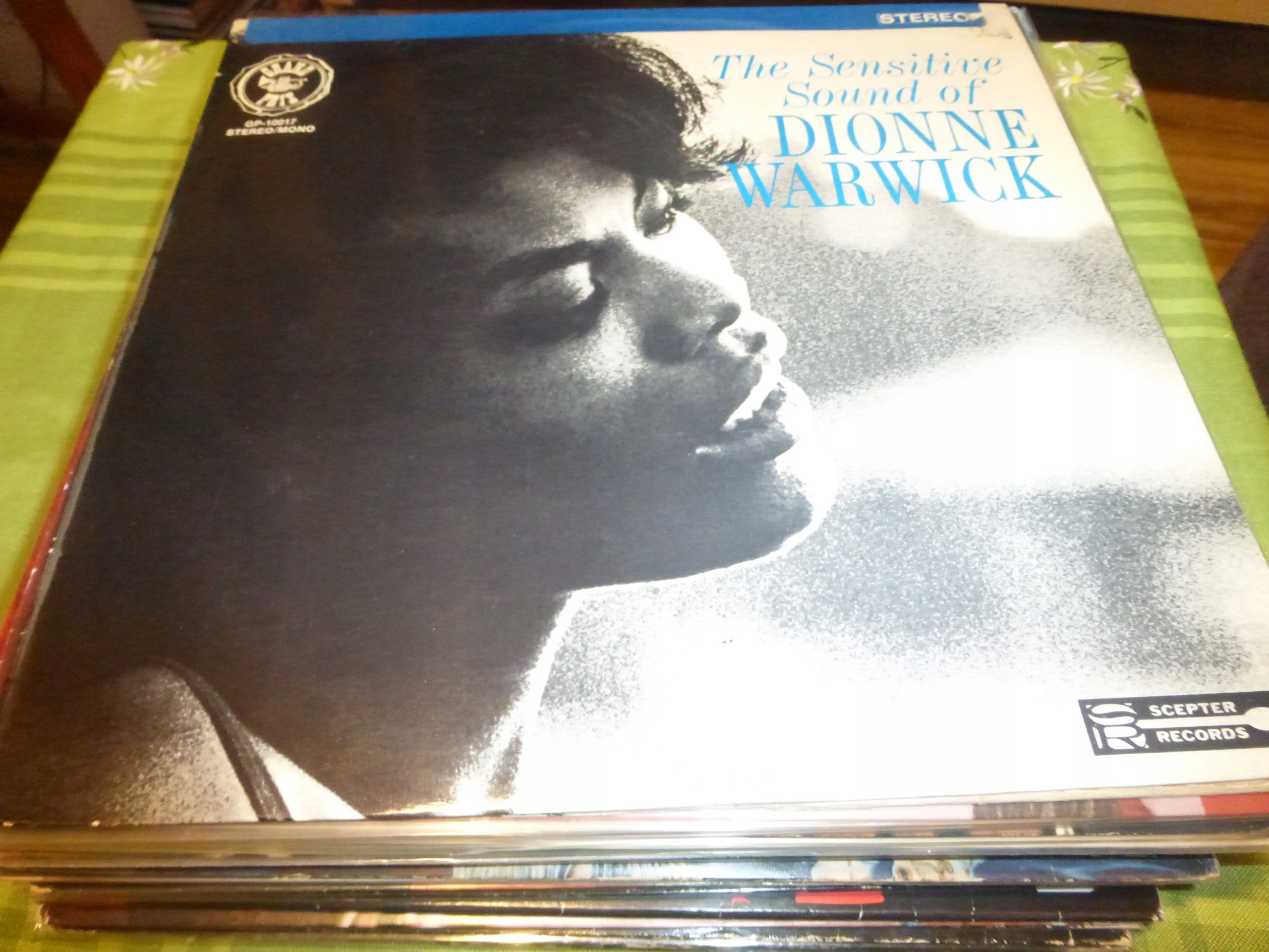 The Sensitive Sound Of Dionne Warwick