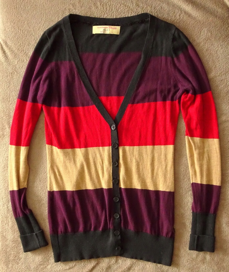 TOM TAILOR DENIM sweter cardigan S/36