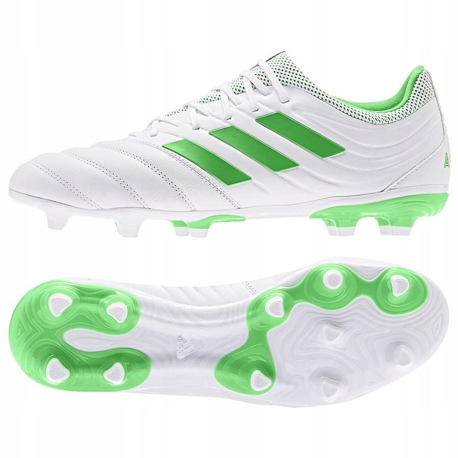 Buty adidas Copa 19.3 FG BB9188 - BIAŁY; 40
