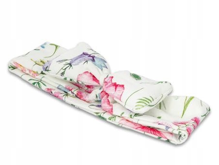 Opaska kwiaty polska łąka lananna pin up girl