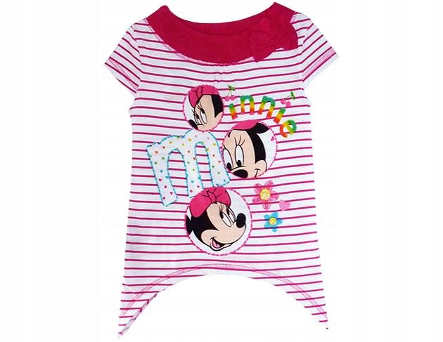 Krótka sukienka tunika Myszka Miki mini mouse Disney