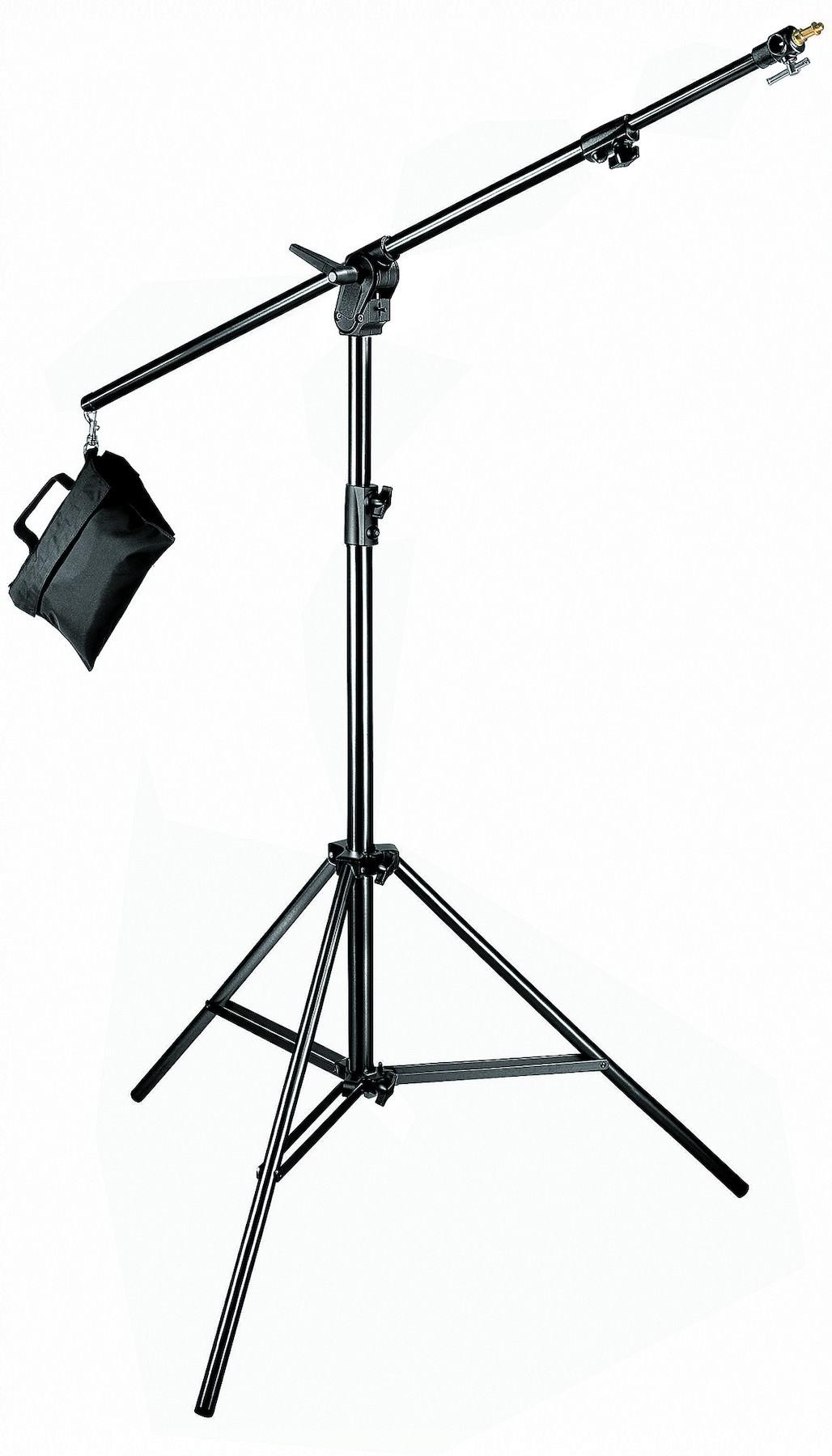Manfrotto 420B - statyw COMBI BOOM aluminiowy