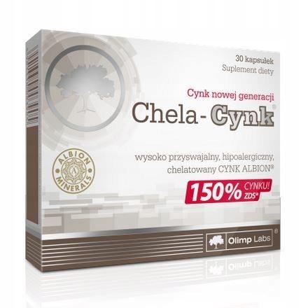 Olimp Chela Cynk 30 kaps.
