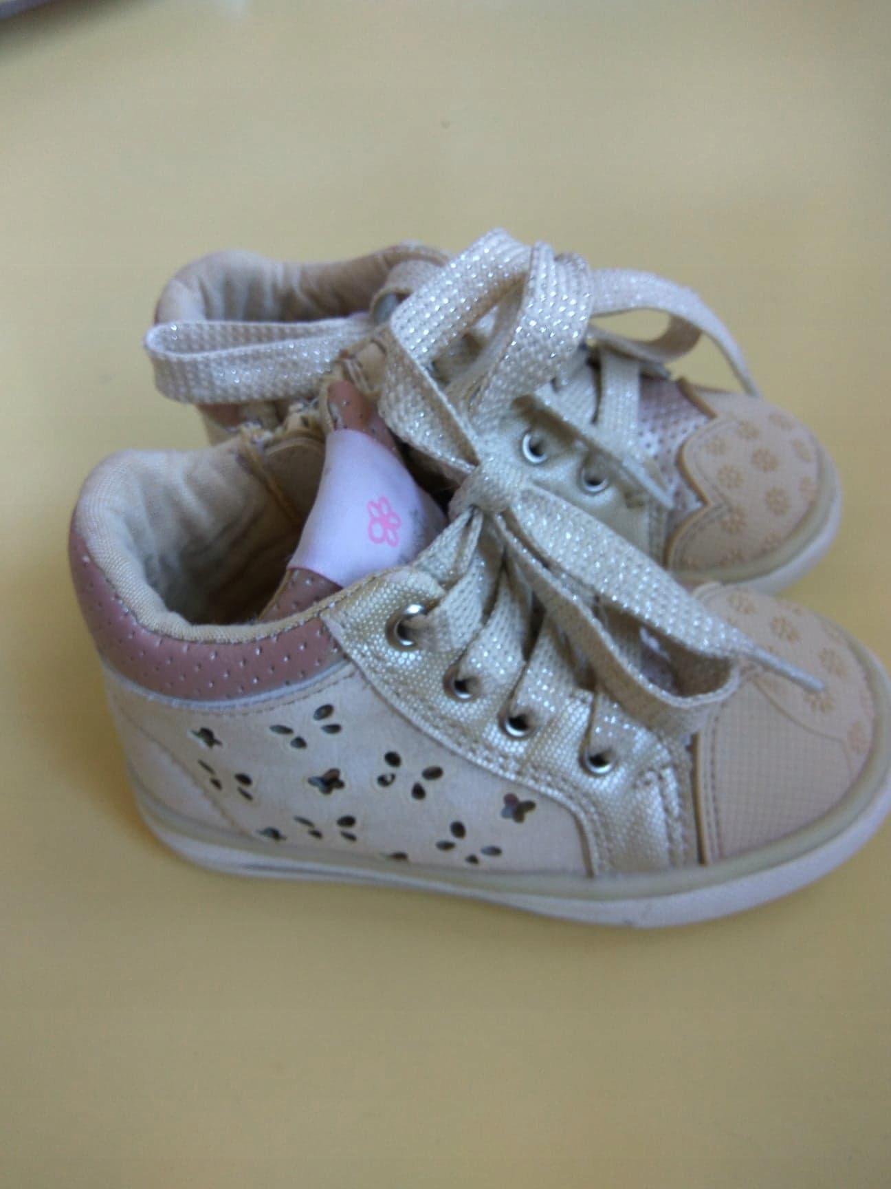 Buty dla dziewczynki Botki rozm. 21