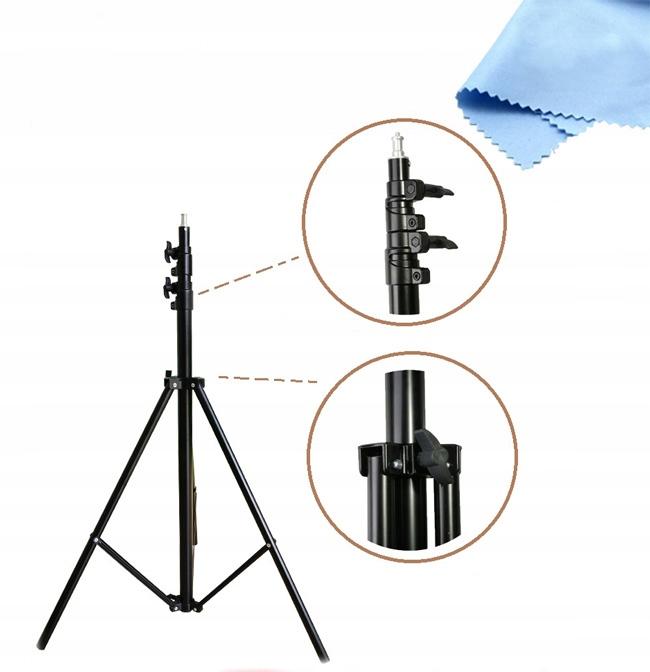 STATYW OŚWIETLENIOWY STUDYJNY A709 AIR 320cm 16mm