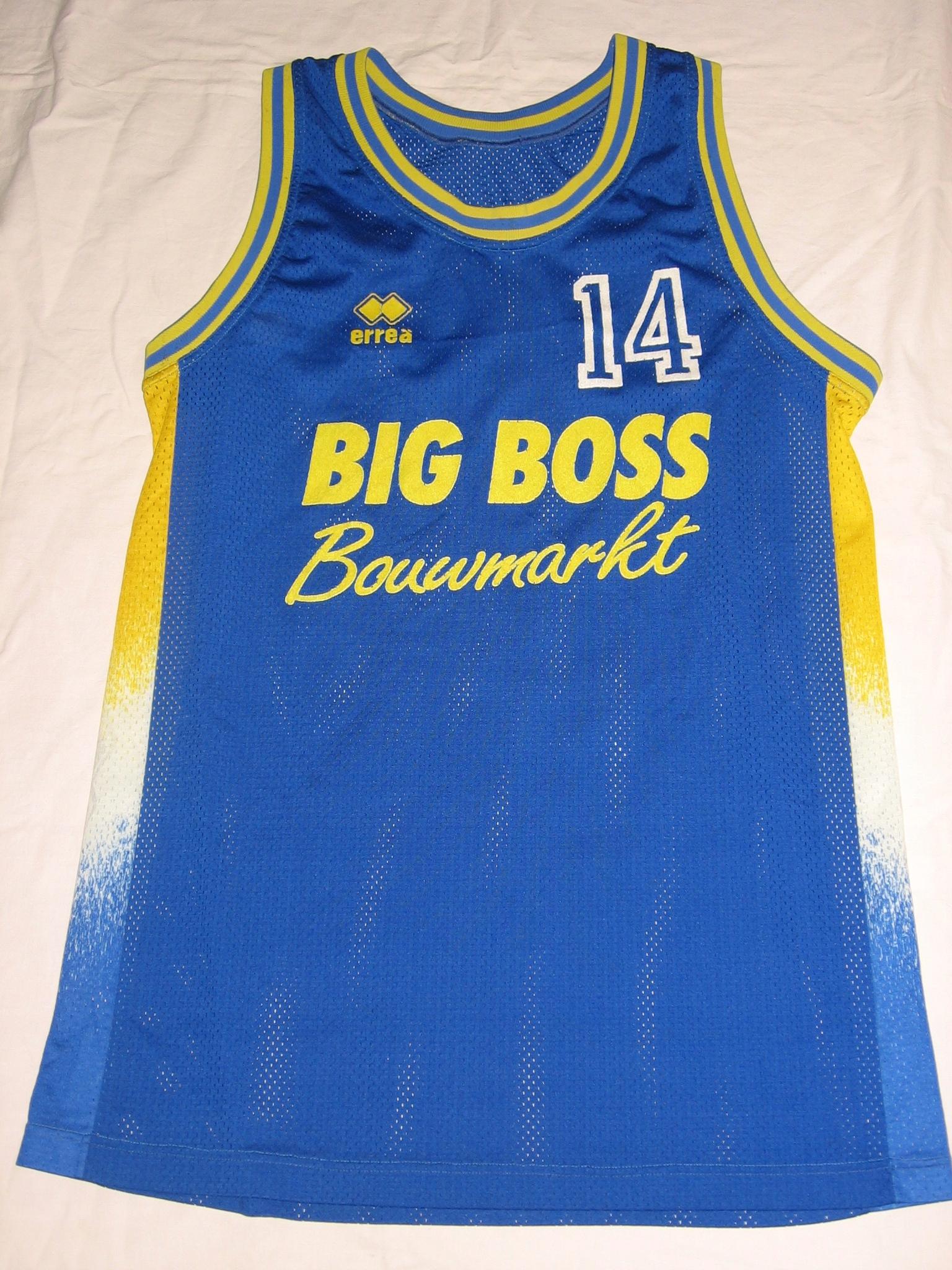 Koszulka koszykówka Big Boss rozmiar XL