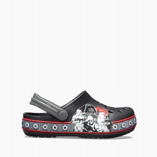 Klapki Crocs Empire Band Clog 205502 BLACK r.33,5
