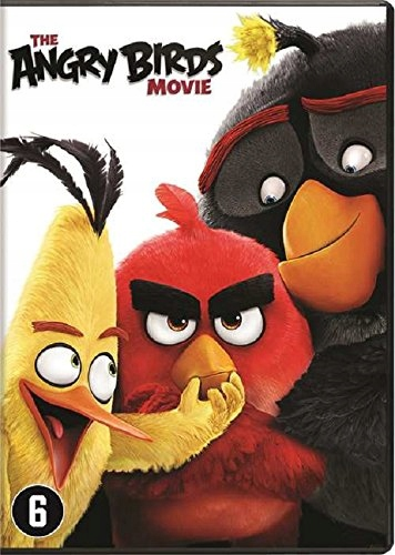 DVD Animation - Angry Birds Movie Bilingual //Cast
