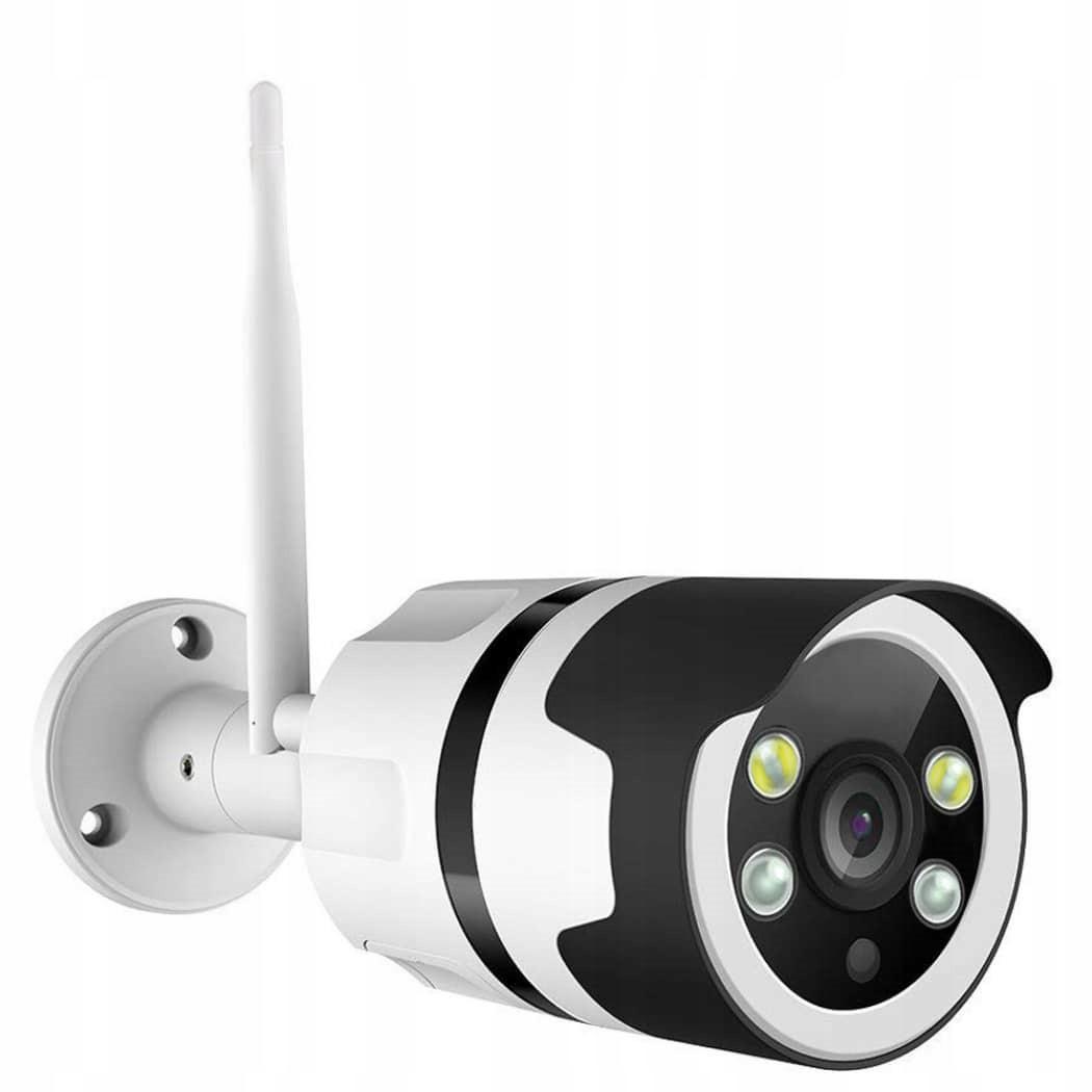 Kamera IP zewnętrzna WiFi 1080P zapis na kartę SD
