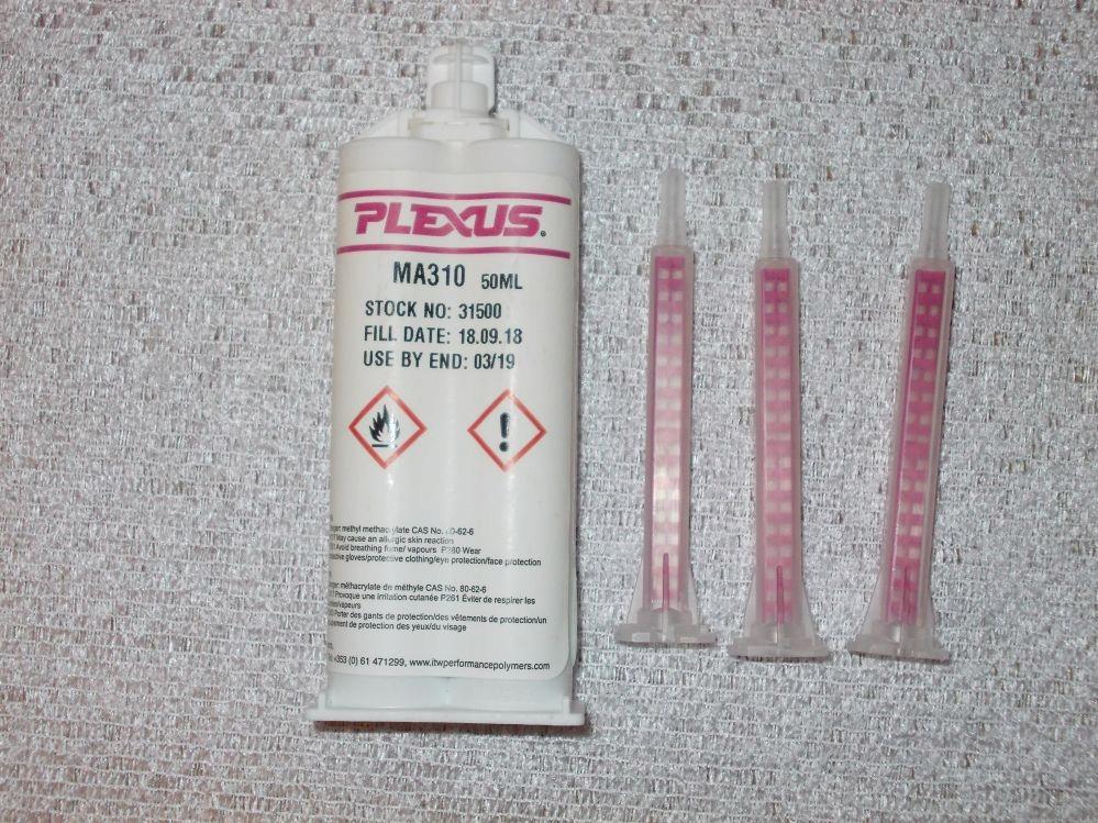 Klej dwuskładnikowy PLEXUS MA 310 50mml. + 3 k.