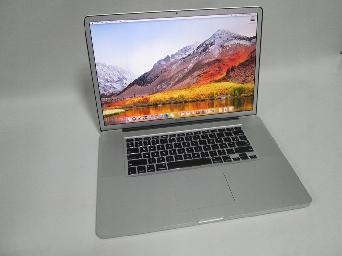 LAPTOP MACBOOK PRO 17 A1297 CORE i7 4GB RAM 750GB