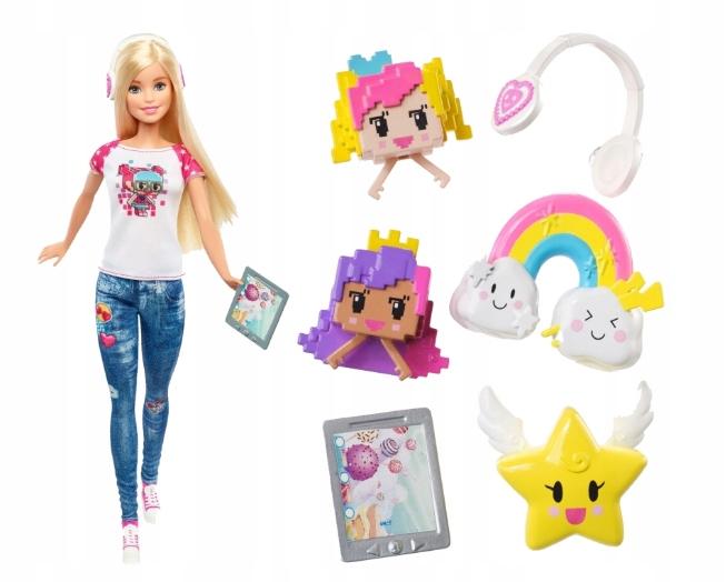 lalka Barbie w Świecie Gier Video Game Hero DTV96