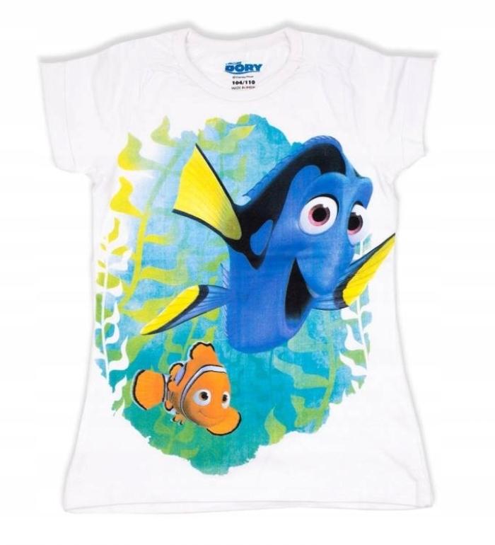 DISNEY DORY NEMO top koszulka t-shirt 104/110