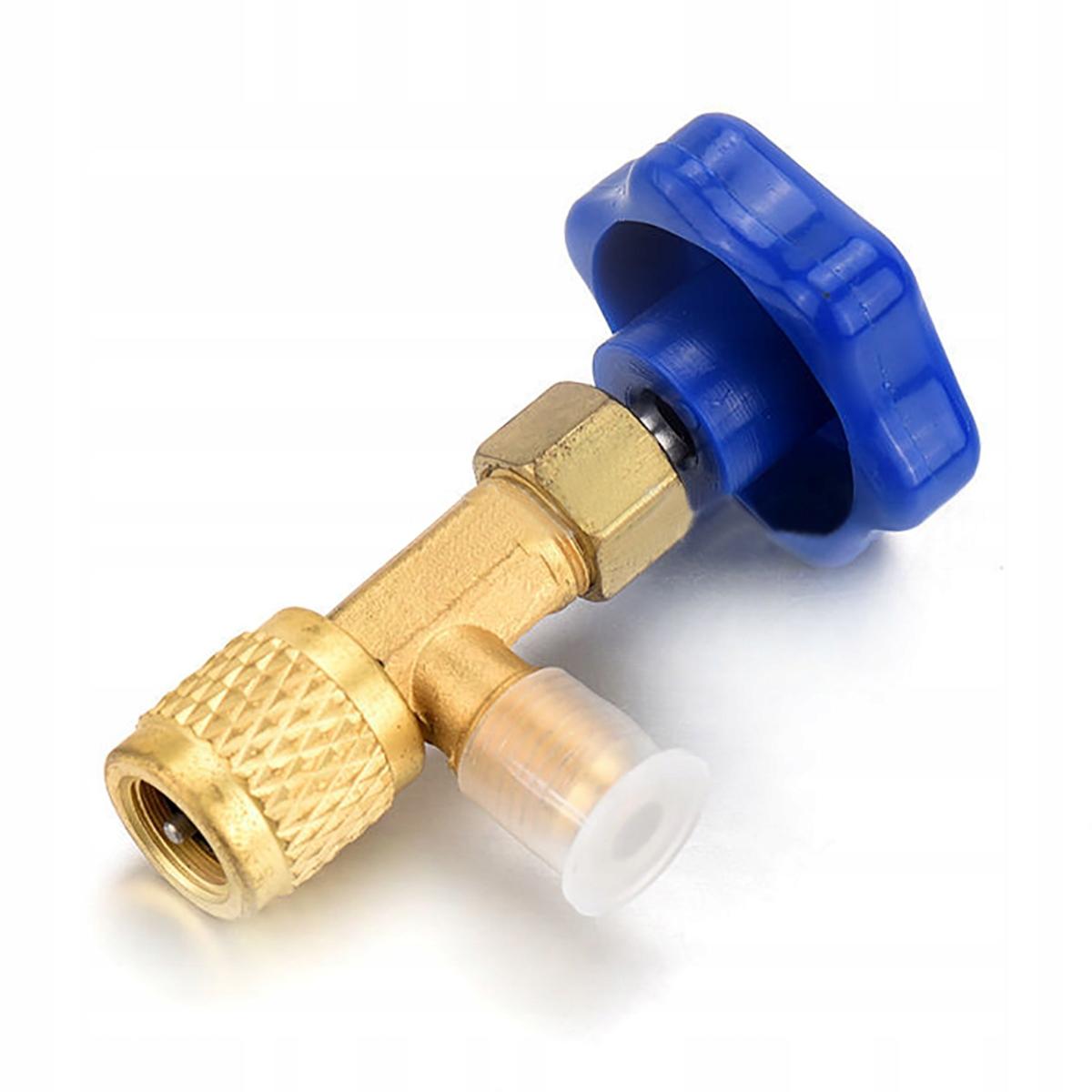 Zawór zaworek butli gaz izobutan R600A R290 butan