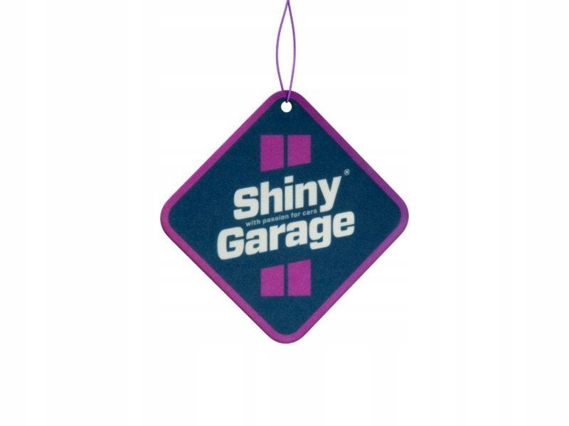 SHINY GARAGE SQUARE AIR FRESHENER Zapach do auta