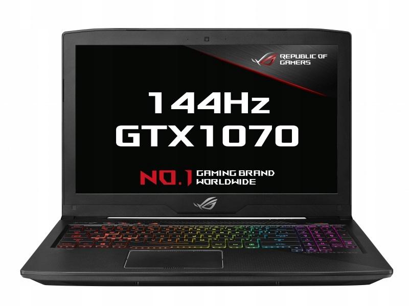 Asus GL503VS i7-7700HQ 16GB SSD+1TB GTX1070 8GB GW