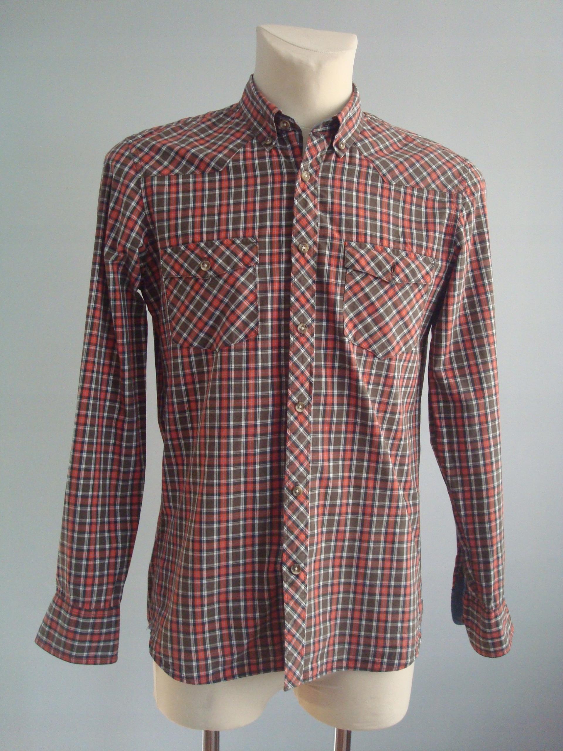 L.O.G.G. H&M koszula męska krata M