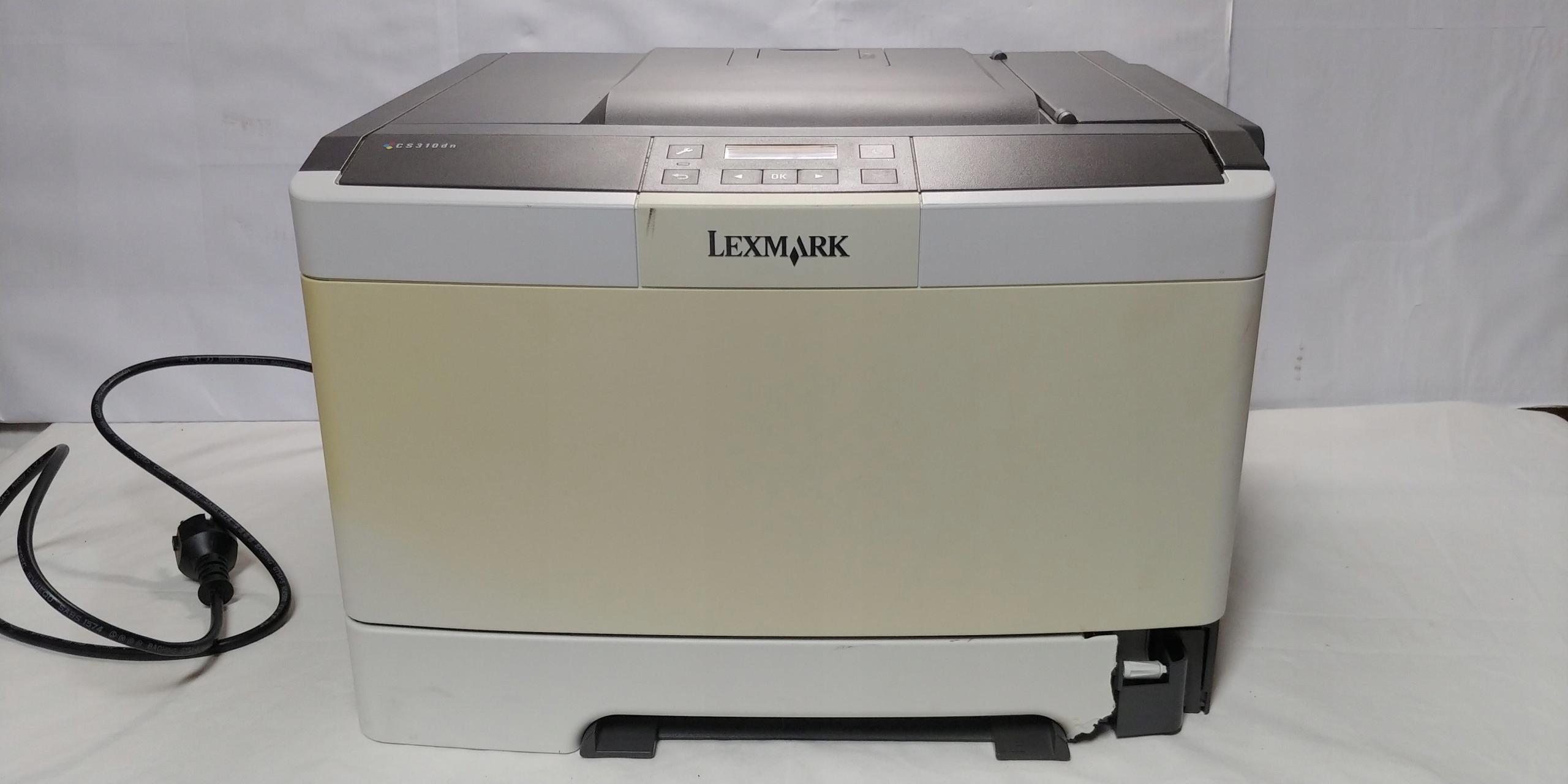 Drukarka Laserowa Kolorowa Lexmark CS310dn