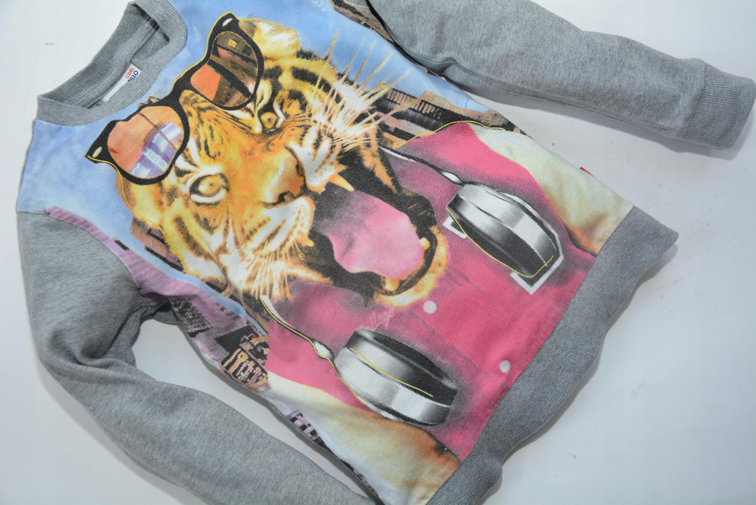 Extra bluzeczkaCOCCODRILLO tygrys :)128