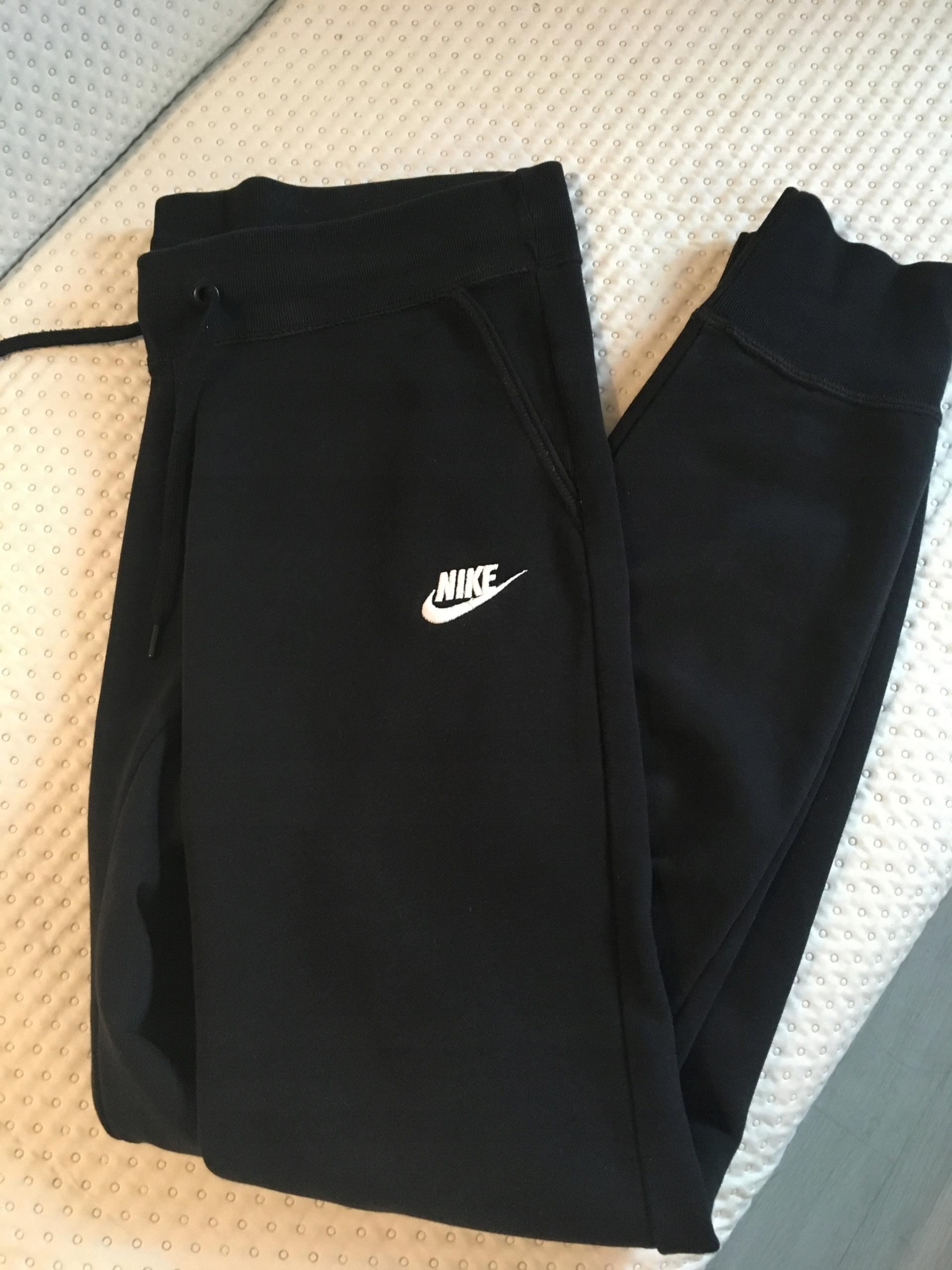 NIKE - spodnie dresowe bawełniane Fleece Tight