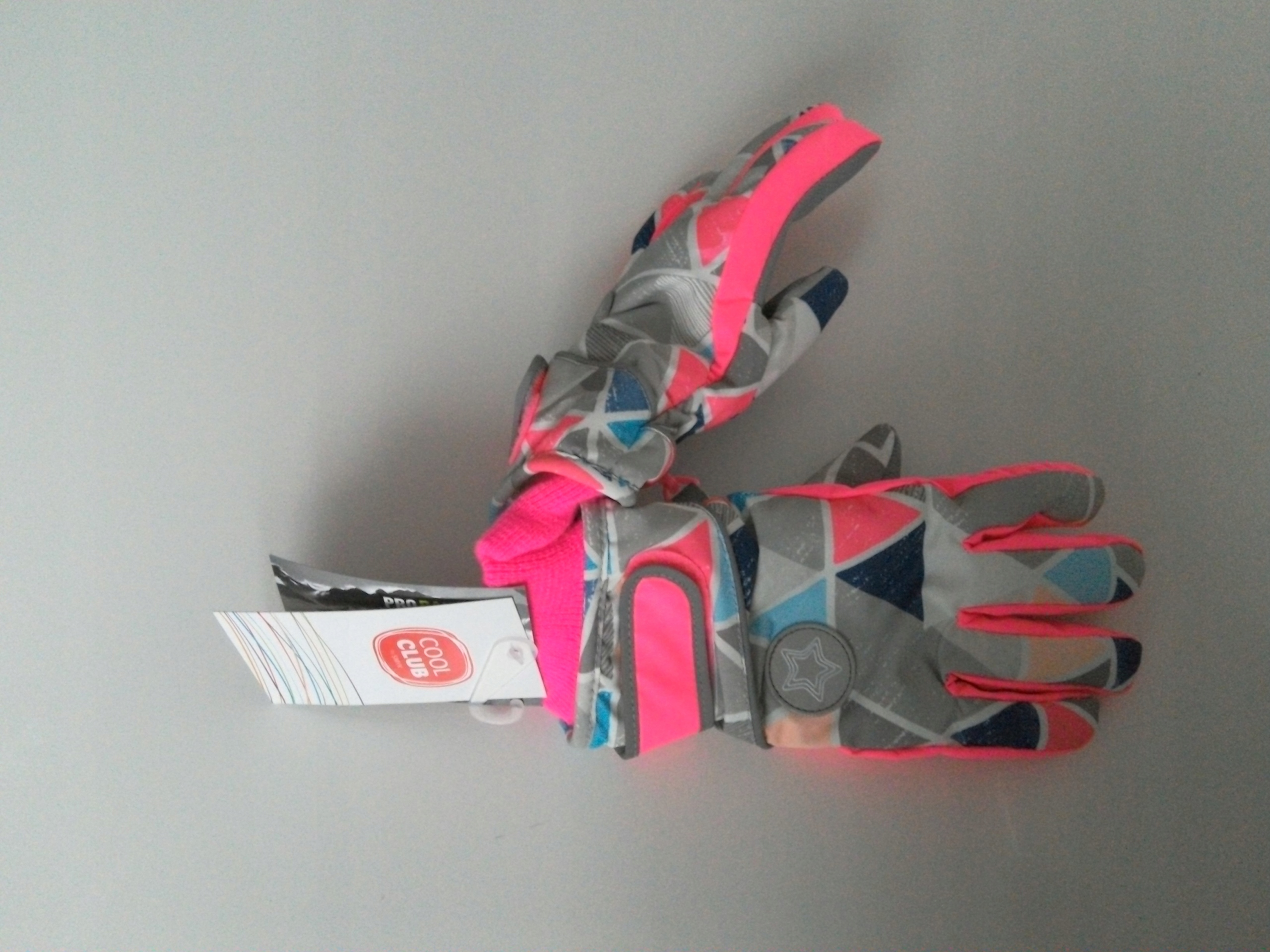Cool Club śliczne rękawiczki narciarskie r.134-146
