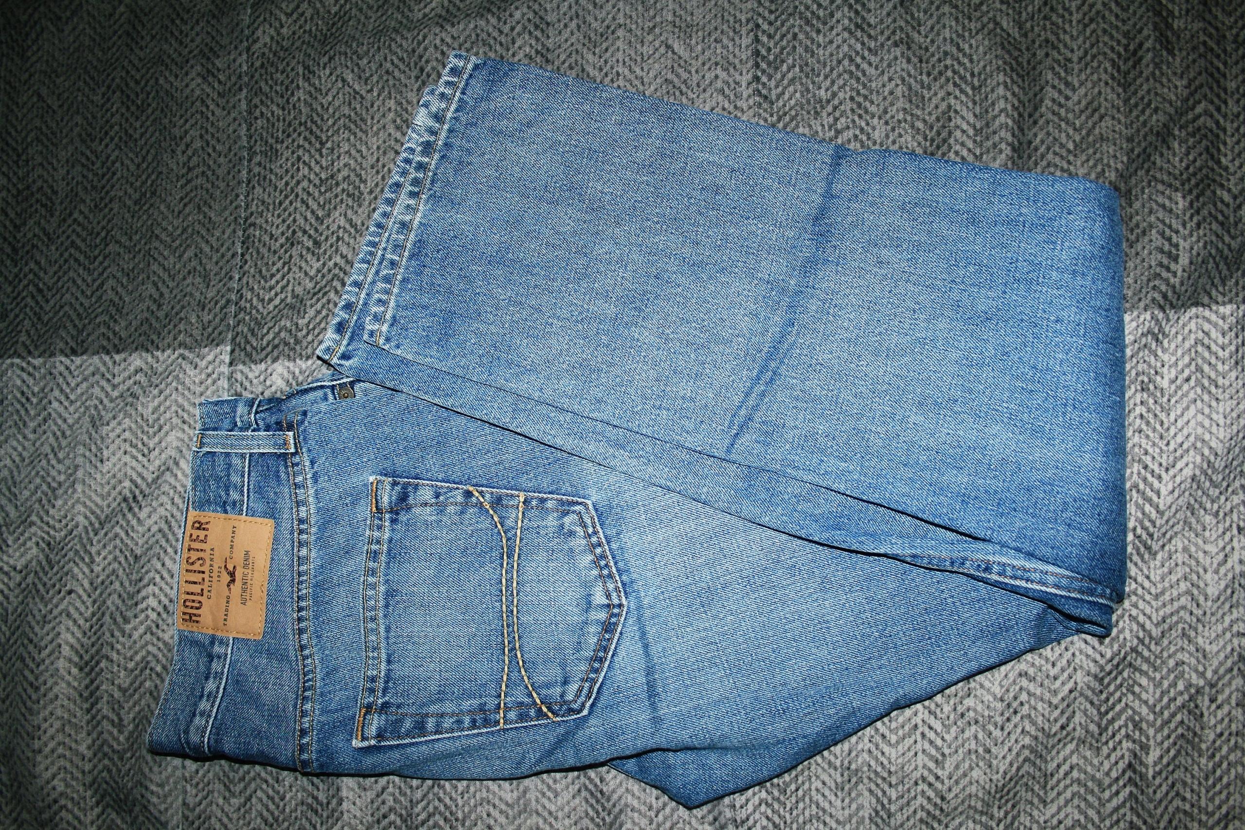 NOWE męskie spodnie HOLLISTER W30/L30
