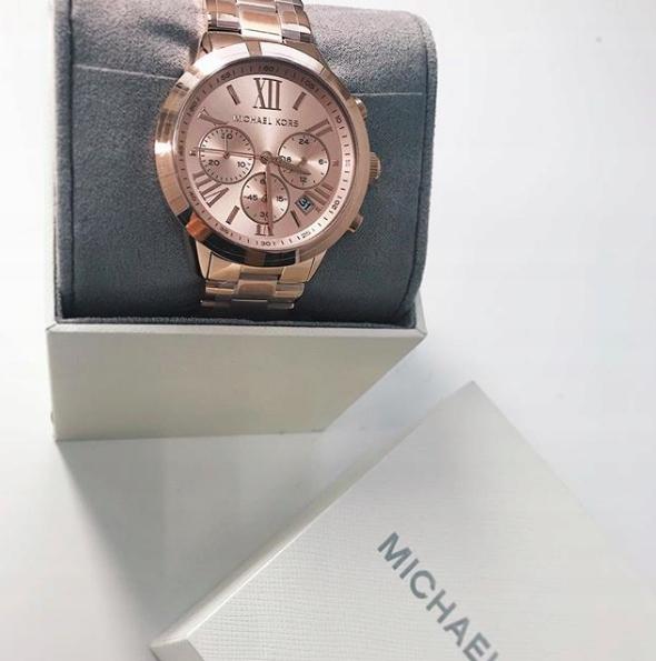d95c930ef5ffb MICHAEL KORS zegarek BRADSHAW MK 5778 goldrose - 7701874576 ...
