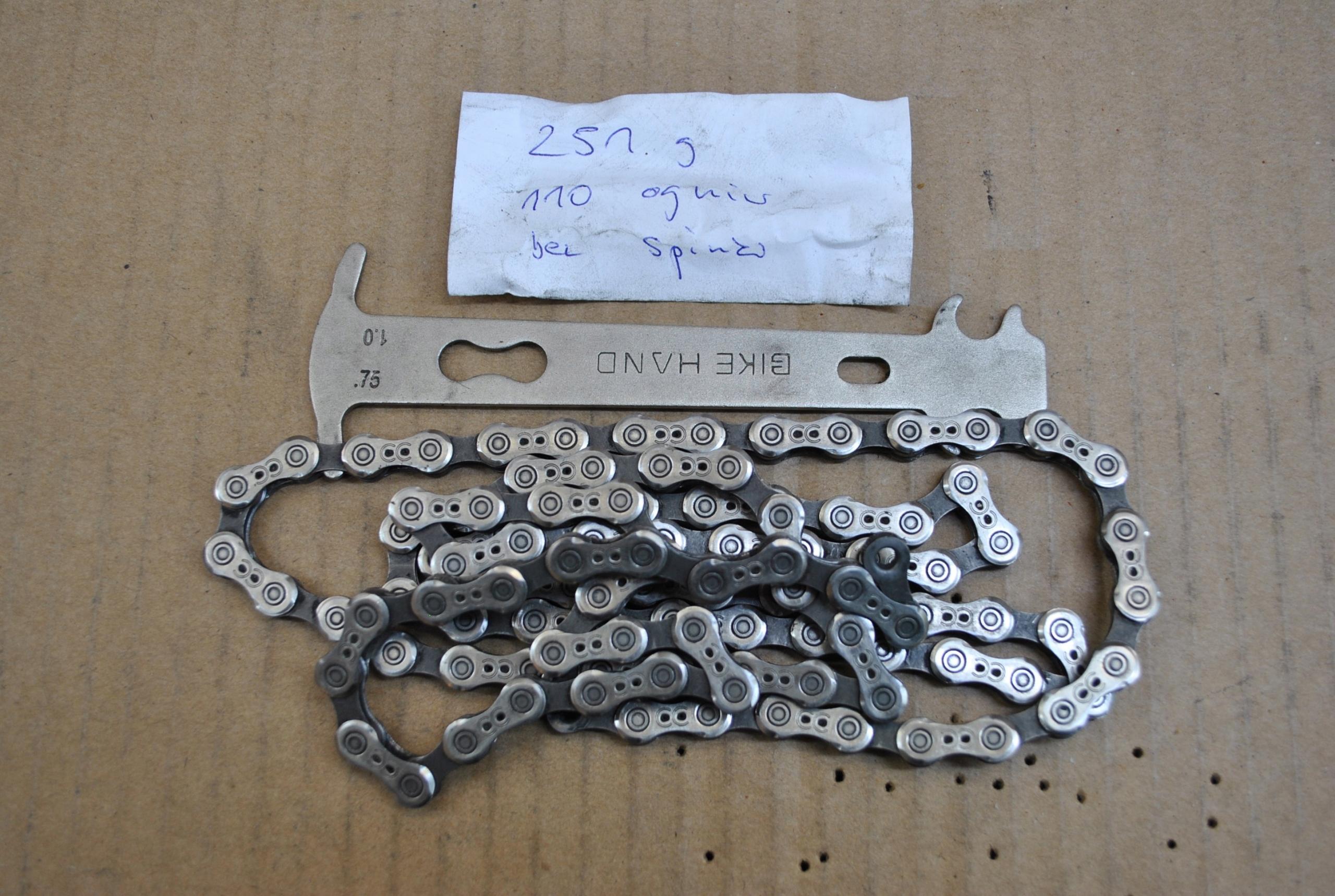 CAMPAGNOLO CHORUS - łańcuch drążony 10S 110L 251G