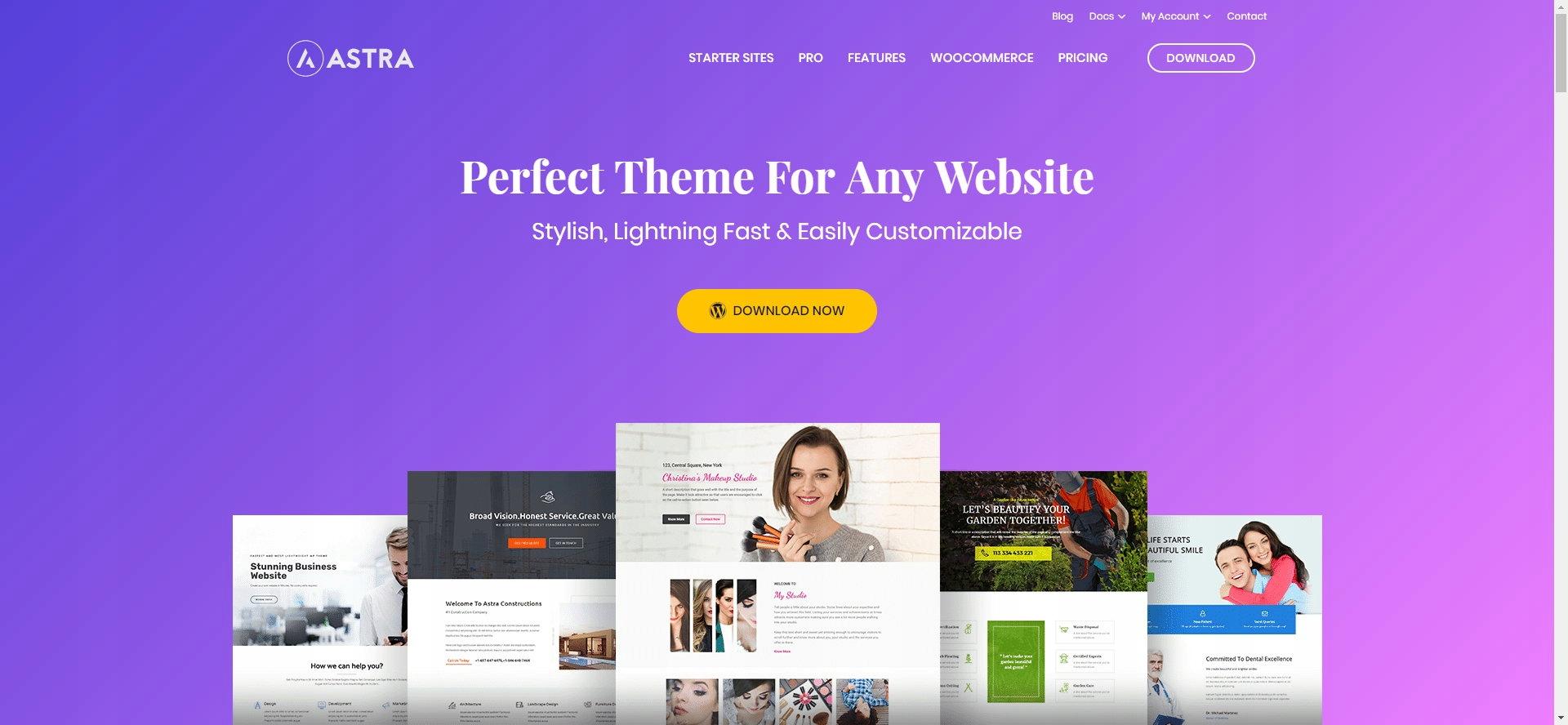 Szablon Wordpress do Landing Page