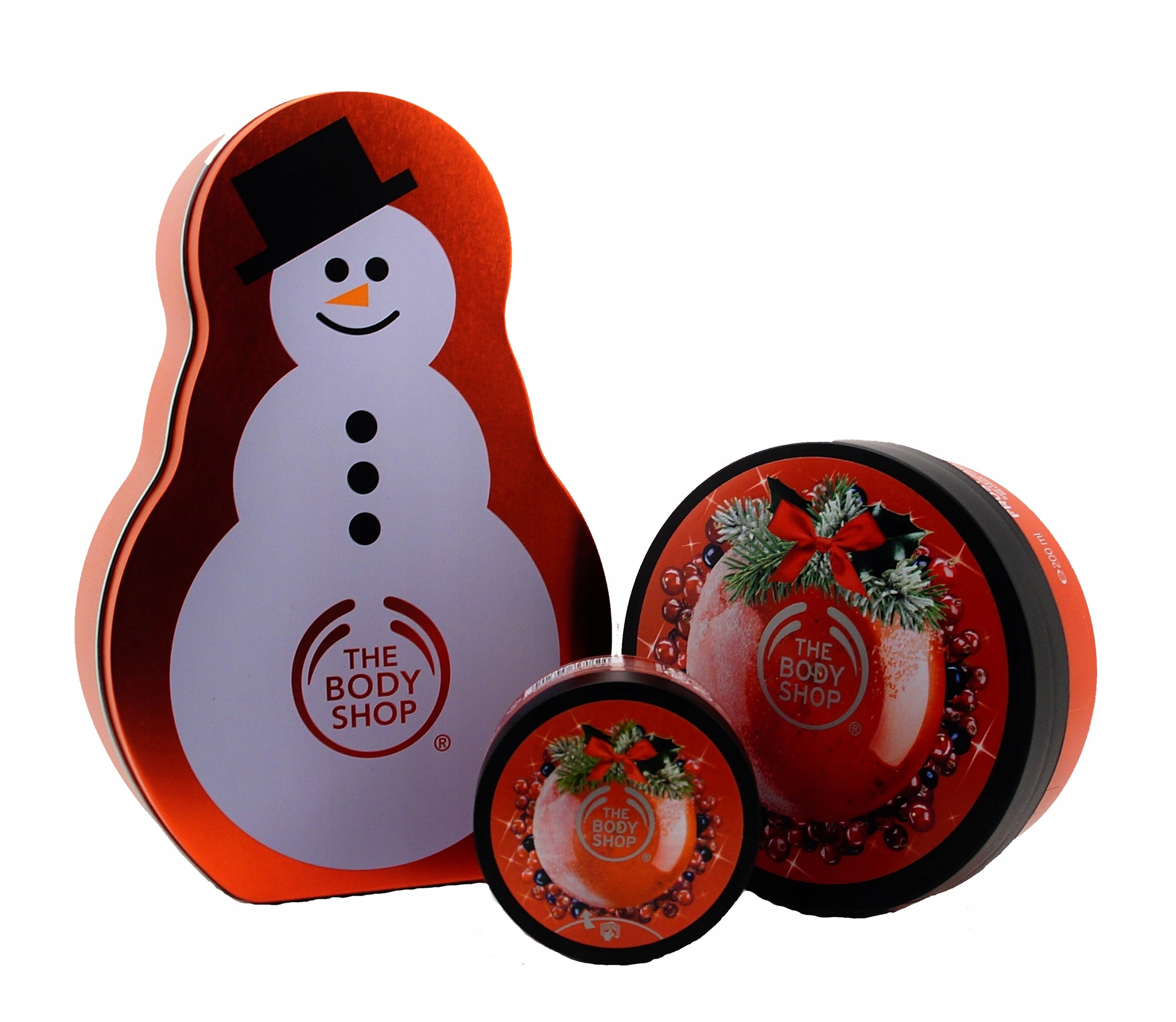THE BODY SHOP_ZESTAW_FROSTED BERRIES_masło peeling