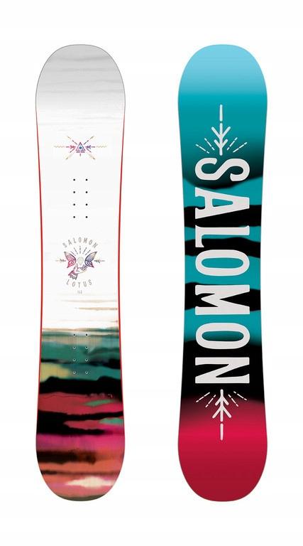 Deska Salomon Lotus 142cm, snowboardowy_pl